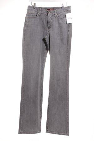 "Cambio Straight-Leg Jeans ""Norah straight"" grau"