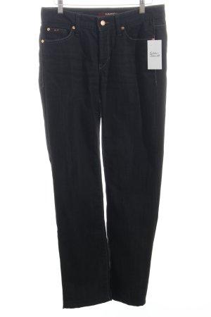 "Cambio Straight-Leg Jeans ""Norah Straight"" schwarz"
