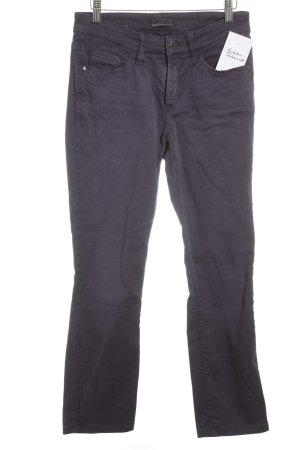 "Cambio Straight-Leg Jeans ""Parla"" dunkelviolett"