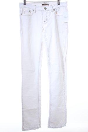 "Cambio Straight-Leg Jeans ""Paula"" wollweiß"