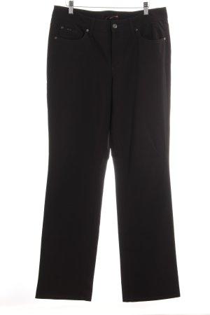 Cambio Straight-Leg Jeans schwarz Casual-Look