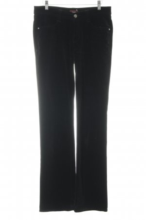 Cambio Straight-Leg Jeans schwarz Street-Fashion-Look