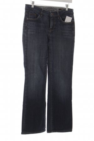 Cambio Straight-Leg Jeans stahlblau Casual-Look