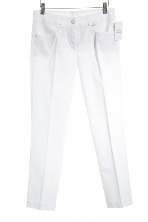 Cambio Straight-Leg Jeans weiß Casual-Look