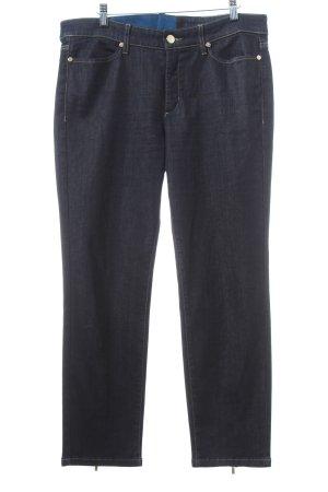 Cambio Stretch Jeans blau schlichter Stil