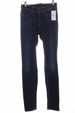 Cambio Stretch Jeans dunkelblau Casual-Look