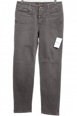 "Cambio Stretch Jeans ""Pearlle"" graubraun"