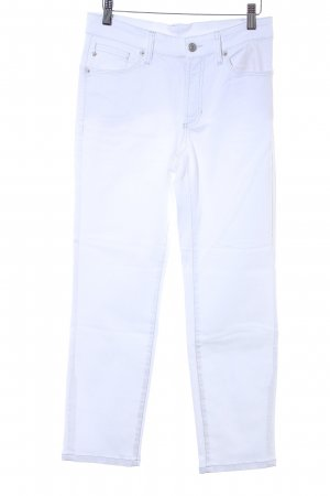 Cambio Stretch jeans wit casual uitstraling