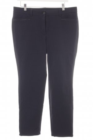 Cambio Stretch Trousers dark blue business style