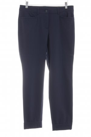 Cambio Stretchhose dunkelblau Business-Look