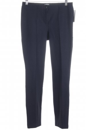 Cambio Stretchhose dunkelblau-schwarz Casual-Look