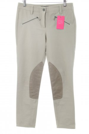 Cambio Stretchhose hellbeige Casual-Look