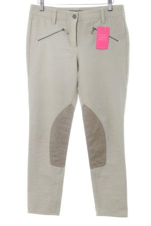 Cambio Pantalón elástico beige claro look casual