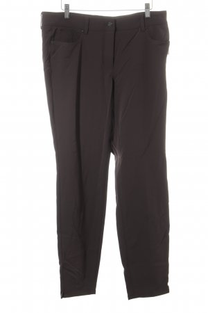 "Cambio Stretch broek ""Romy"" donkerbruin"