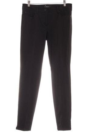 Cambio Stretchhose schwarz schlichter Stil
