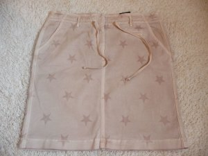 Cambio * Süßer Sommer Jeans Rock Honey * rose nude STARS * 40/42