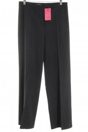Cambio Woolen Trousers black casual look