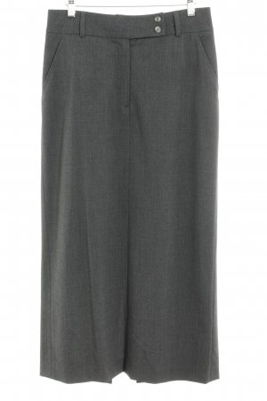 Cambio Wool Skirt grey elegant