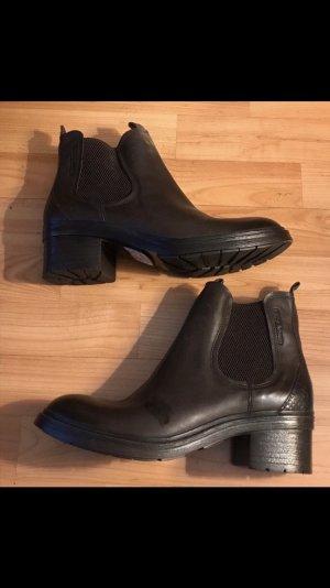 Camel Active Boots Schuhe Stiefelette braun dunkelbraun 39 neu