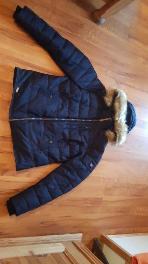 Camel Active Winter Jacket dark blue