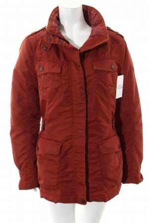 Camel Active Jacke dunkelorange Casual-Look