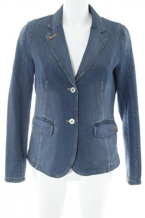 Camel Active Denim Blazer steel blue urban style