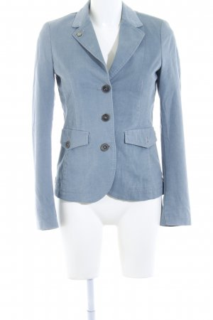Camel Active Kurz-Blazer graublau Business-Look