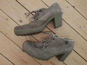 Camel Active Lace-up Pumps grey brown-oatmeal