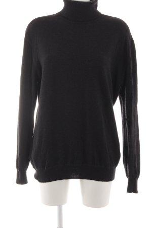 Camel Active Turtleneck Sweater black business style