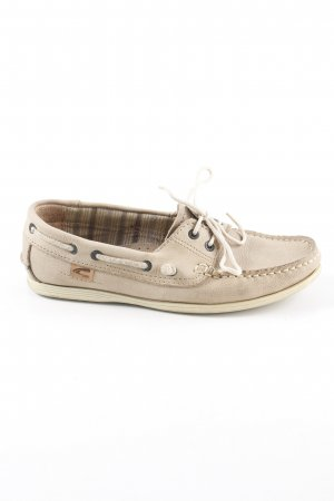 Camel Active Sailing Shoes sand brown sailor style