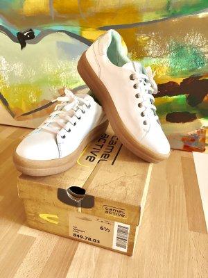 Camel Active Sportnappa Sneaker, white, Gr.40
