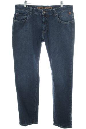 Camel Active Straight-Leg Jeans neonblau Jeans-Optik