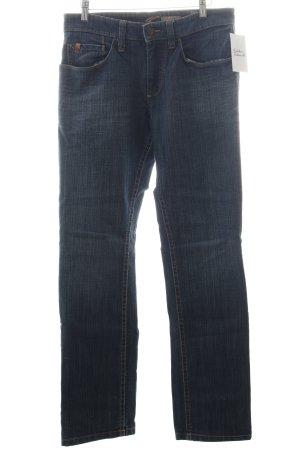 Camel active Straight-Leg Jeans blau Casual-Look