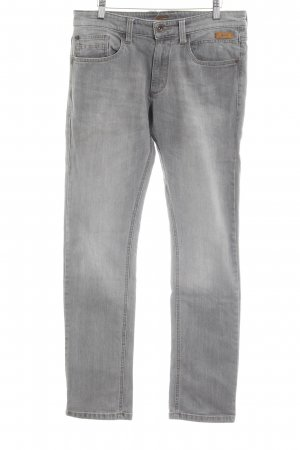 Camel Active Straight-Leg Jeans grau Casual-Look