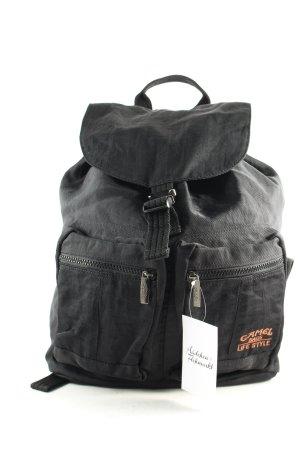 Camel Bags Life Style Rucksack schwarz-silberfarben sportlicher Stil