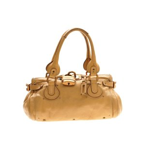 Camel  Chloe Shoulder Bag