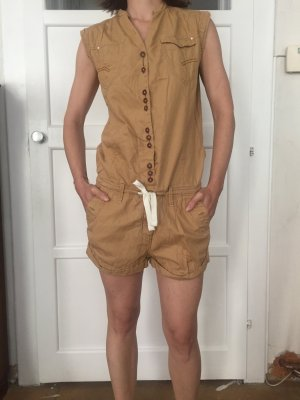 Camel colored Playsuit