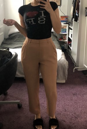 camel farbene culottes