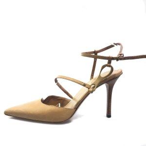Gucci High-Heeled Sandals camel