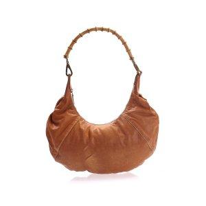 Camel  Miu Miu Shoulder Bag