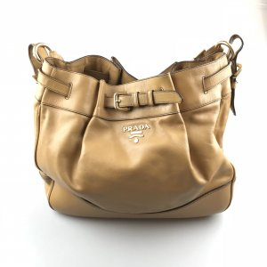 Camel  Prada Shoulder Bag