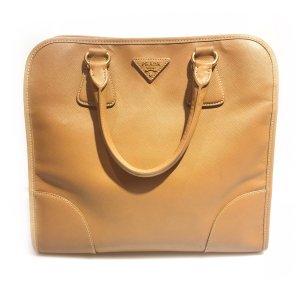 Camel  Prada Shoulder Bag