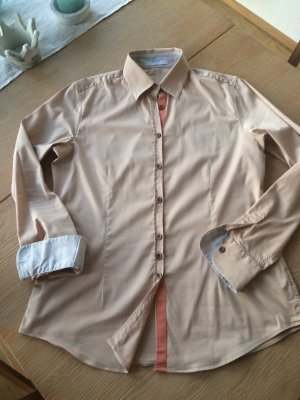 Aglini Blouse camel-cognac-coloured