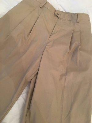 Carla Positano Pantalone a pieghe color cammello