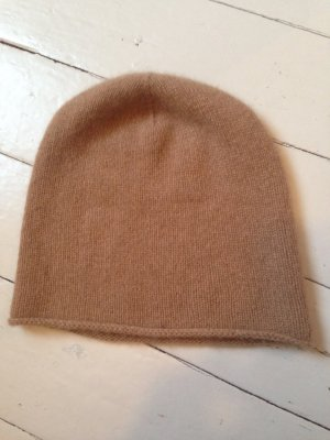 COS Knitted Hat camel