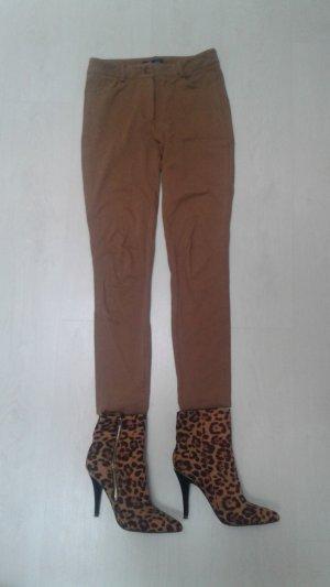 Camelfarbene Hose von Mango Suit