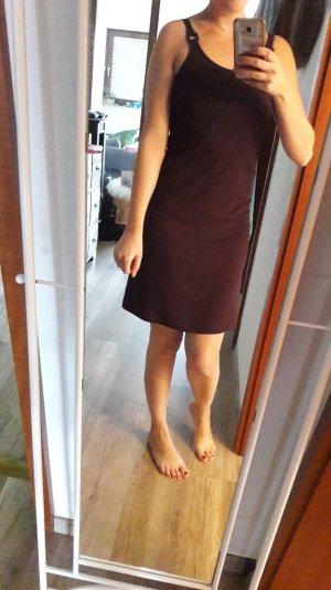 Camera Kleid Camisole Trägerkleid Empire Babydoll Bordeaux Burgundy 36