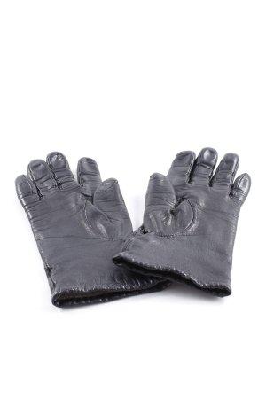 Camera Leren handschoenen zwart elegant