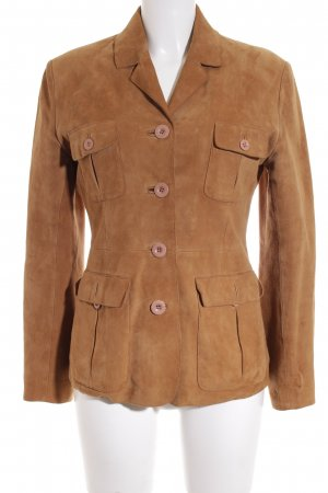 Camera Lederjacke camel Casual-Look