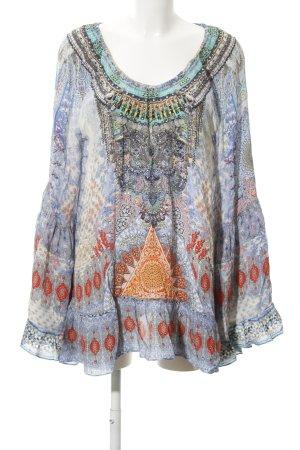 Camilla Oversized Bluse Allover-Druck Gypsy-Look